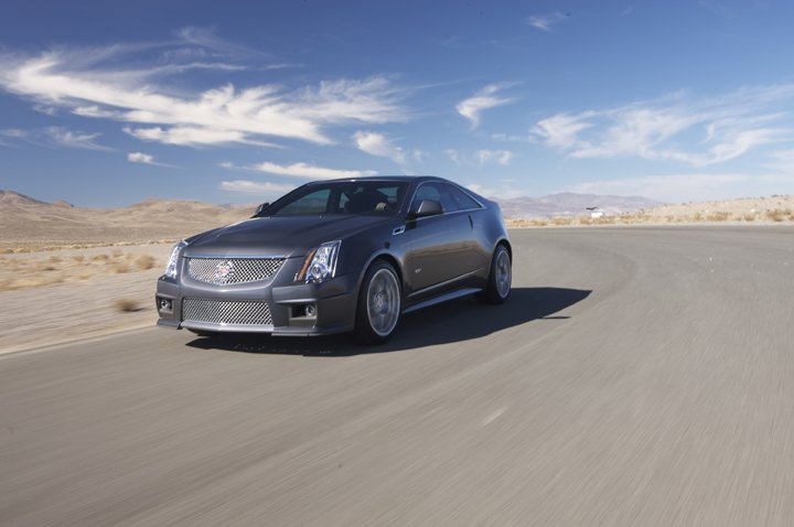The 2011 CTS-V Coupe begins production in the summer of 2010 as
