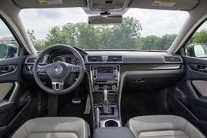 2015 Passat Sport interior