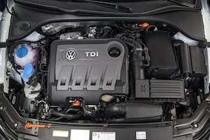 2015 Passat TDI  engine
