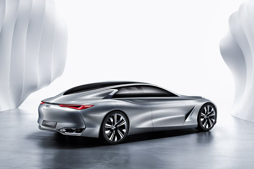 Infiniti Q80 Inspiration - Paris Motor Show 2014 - low-res
