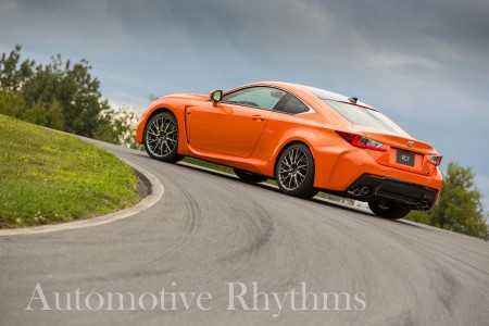 2015 Lexus RC F: Powerful Impact