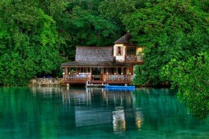 : GoldenEye, located in Oracabessa Bay, on the north coast of Jamaica.