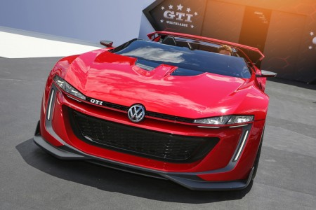 VOLKSWAGEN GTI ROADSTER MAKES STOP AT LOS ANGELES AUTO SHOW