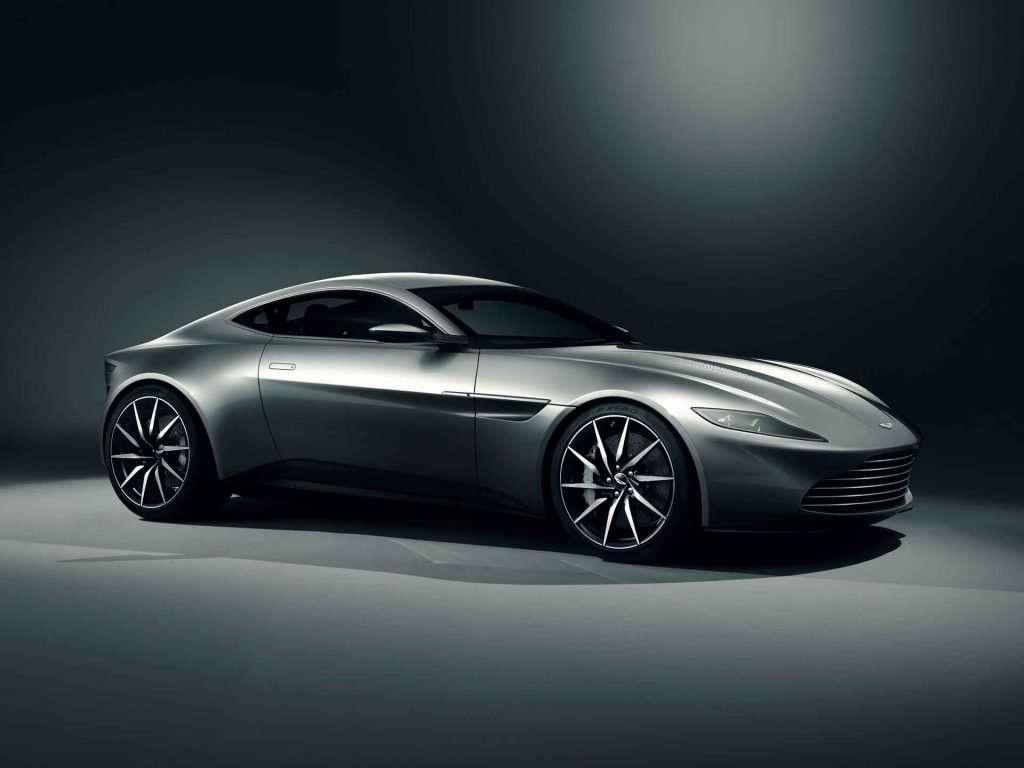 Aston Martin DB10  Front Three Quarter low res