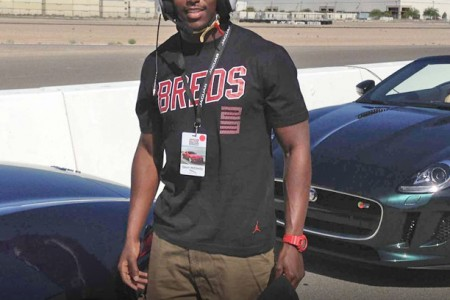 Throwback Thursday: New England Patriot's Devin McCourty and the Jaguar F-Type