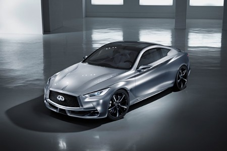 Infiniti Q60 Concept at the 2015 Detroit Auto Show