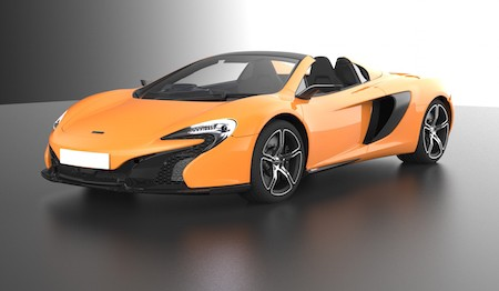McLaren 650S Spider Digital with JVC Kenwood Digital Cockpit System