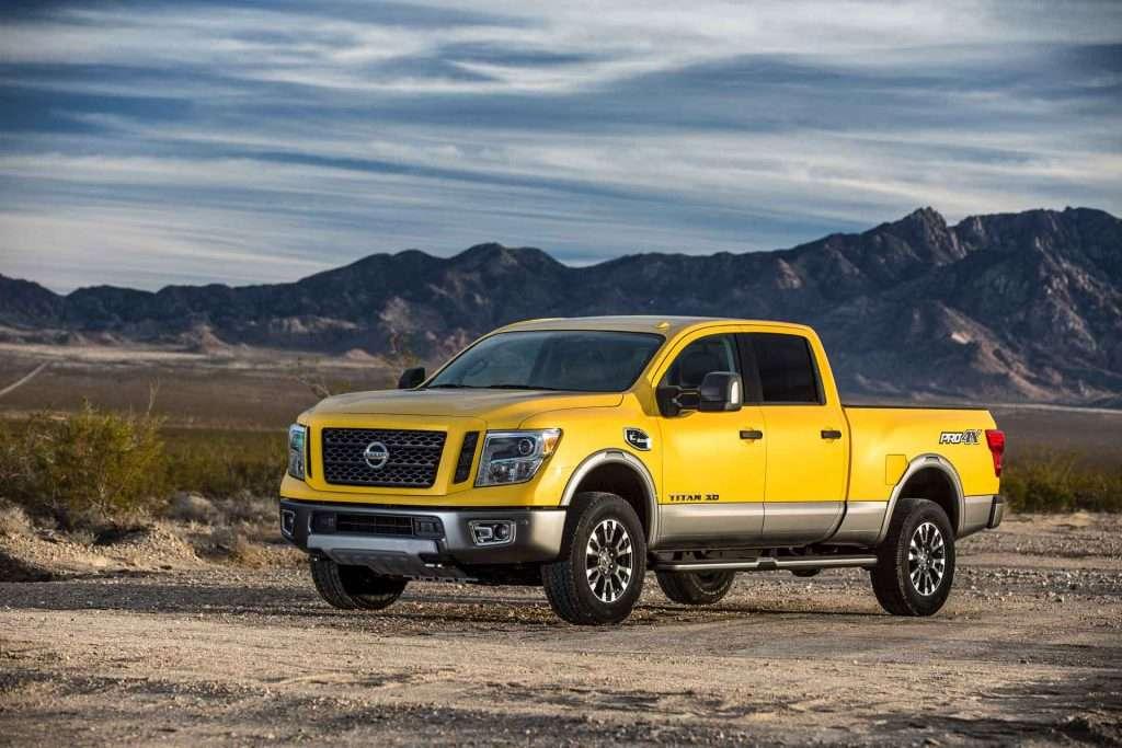 Miller Buick Gmc >> SolarFlare Yellow 2016 TITAN XD PRO-4X Is   AUTOMOTIVE RHYTHMS