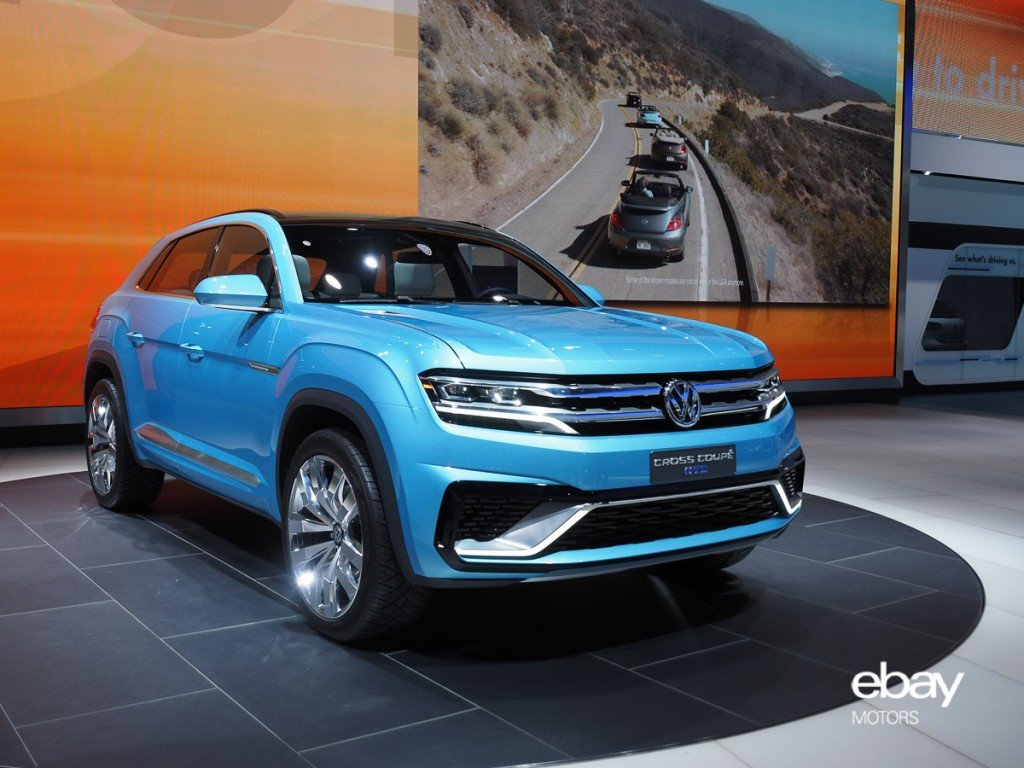 VW Cross Coupé GTE Concept at 2015 NAIAS Detroit