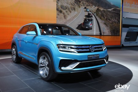 VW Crossover Concept Previews at 2015 Detroit Auto Show