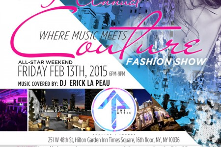9th Annual Music Meets Couture Fashion Show