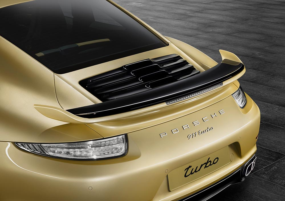 -New Aerokit for the Porsche 911 Turbo and 911 Turbo S