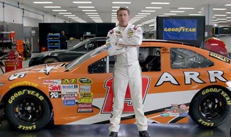 Carl Edwards Helps Goodyear Illustrate the Grueling Conditions NASCAR Tires Face in New 'Tire Talk' Videos