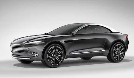 Aston Martin DBX Electric Concept Shown at Geneva Motor Show