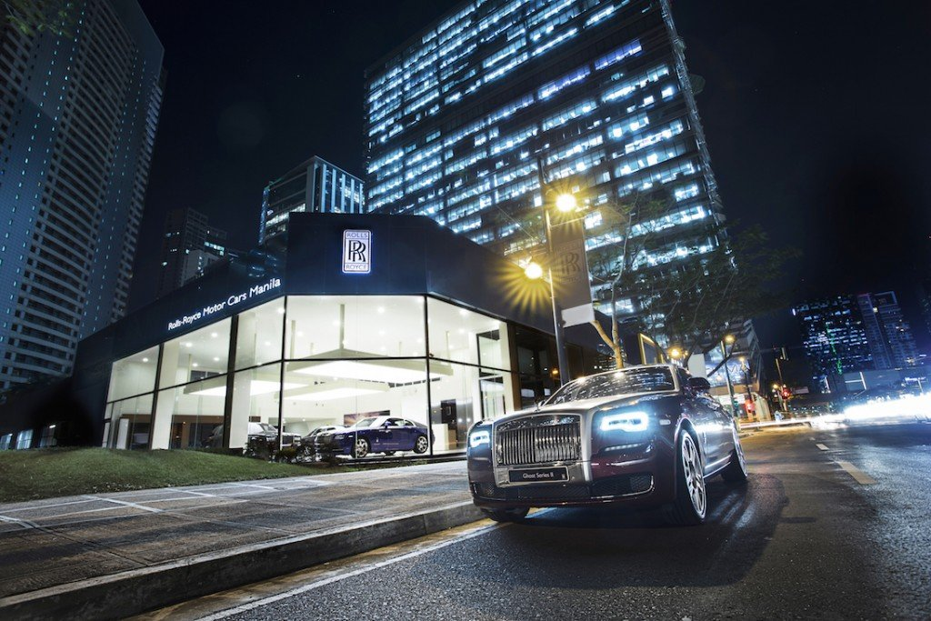 ROLLS-ROYCE MOTOR CARS OPENS NEW SHOWROOM IN THE PHILIPPINES