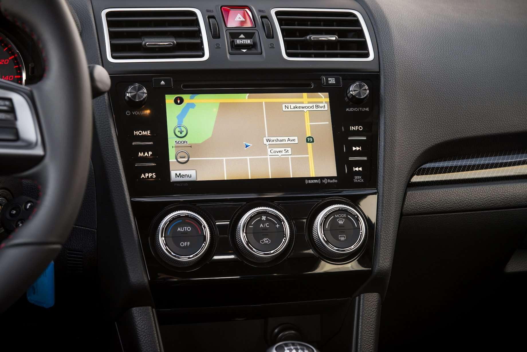Subaru Starlink Infotaintment For 2016 Wrx And Wrx Sti