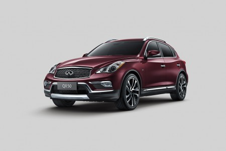 2016 Infiniti QX50 Features Longer Wheelbase, Larger Interior and Enhanced Styling