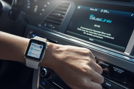 Remote Start Your Hyundai from Apple Watch via Blue Link