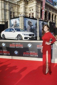 world premiere of Mission Impossible - Rogue Nation at the Opera House in the new BMW 7 Series