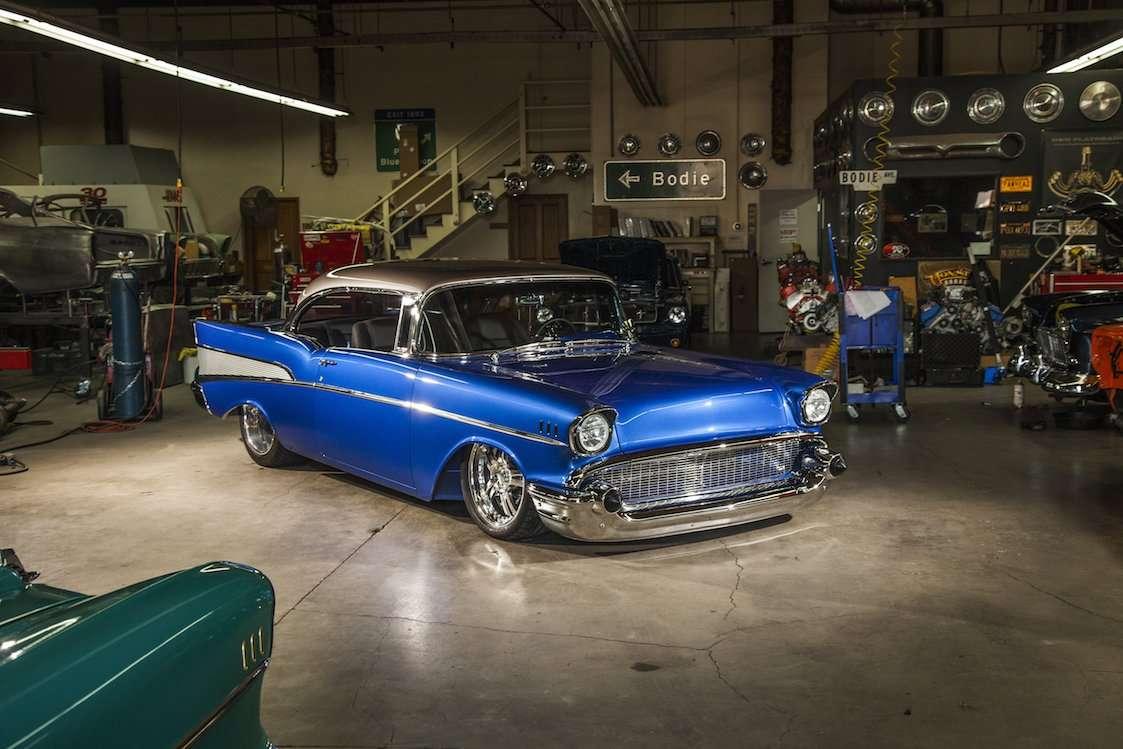 57 Chevy Bel Air Rear Bumper