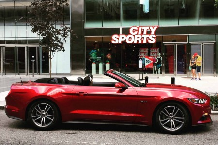 Exploring Washington, DC for a Day touting the 2015 Ford Mustang GT Convertible