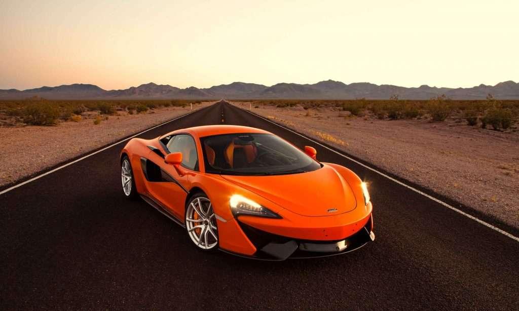 McLaren-Sport-Series-570S-Orange-Front-Desert