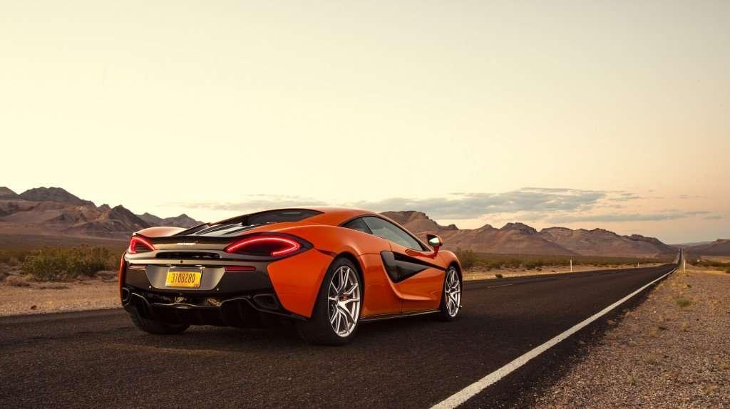 McLaren-Sport-Series-570S-Orange-Rear