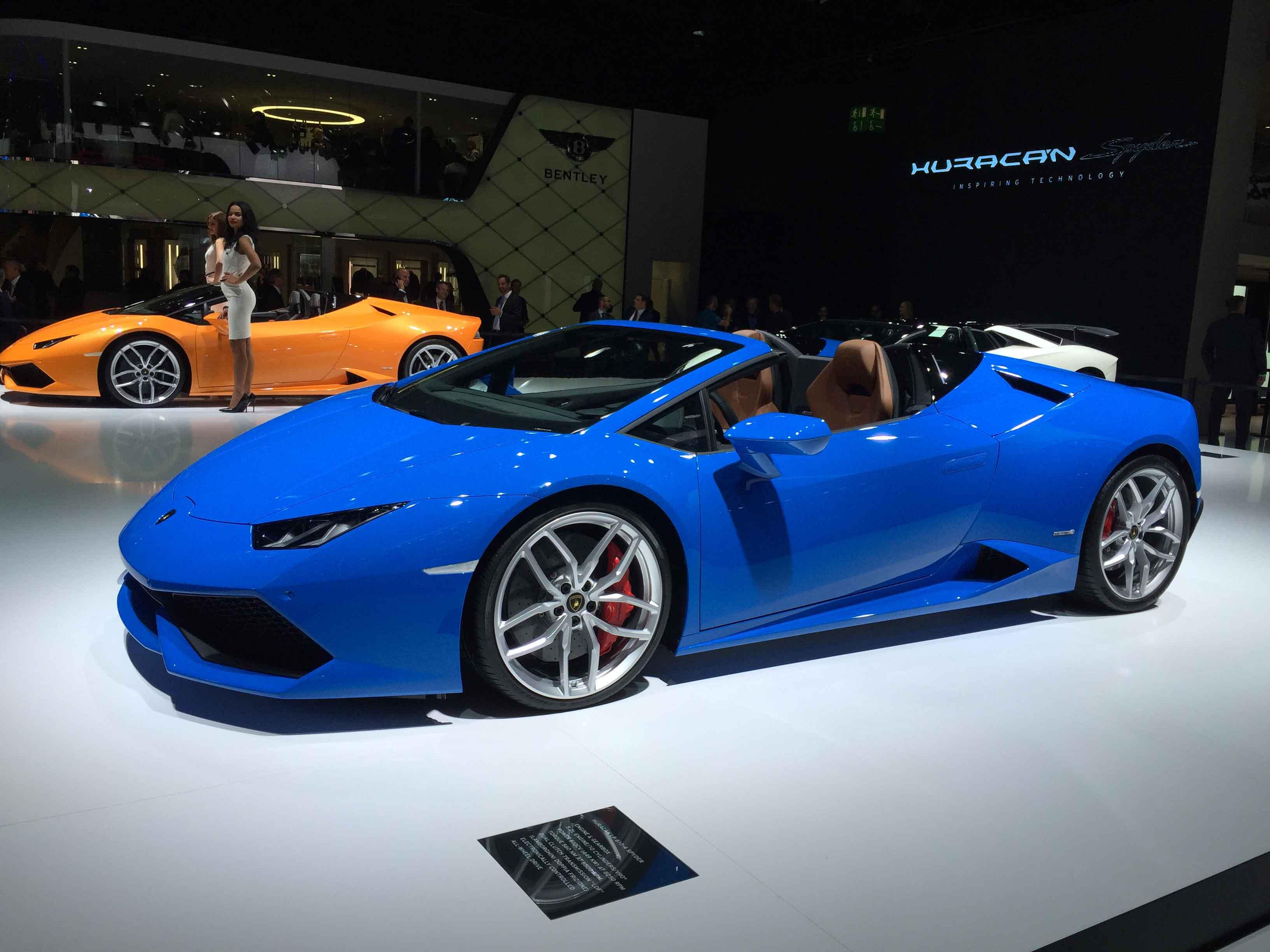 Lamborghini Huracan Lp 610 4 Spyder Automotive Rhythms