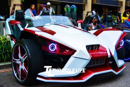 Polaris Slingshots Take Over D.C.