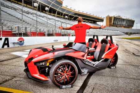 Big Tigger Unveils the JL Audio Equipped Custom Slingshot at the Atlanta Slingshot Takeover