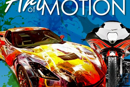 GM Designers To Transform 'Corvette Canvas'  During Art-of-Motion at Washington DC Auto Show