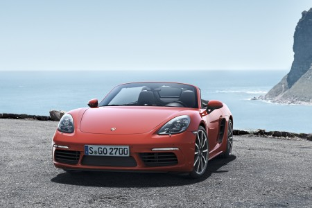 The new Porsche 718 Boxster and 718 Boxster S