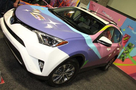 Toyota RAV4 Hybrid: ART-of-Motion at the 2016 Washington Auto Show