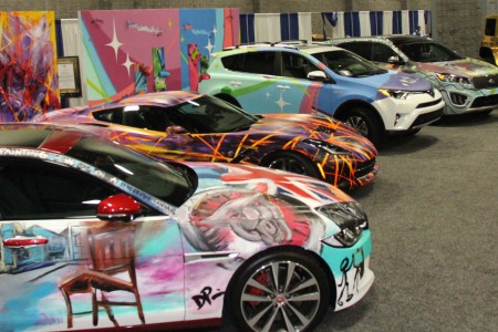 ART-of-Motion: A Visual Art and Fashion Exhibition at the 2016 Washington Auto Show
