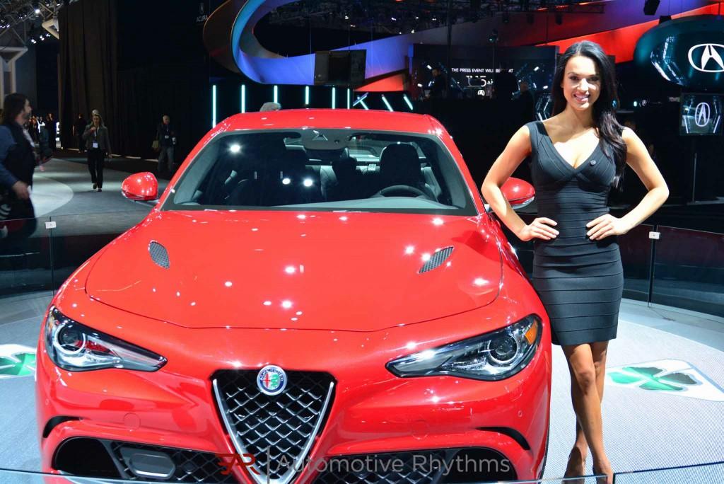 2016 New York Auto Show Alfa Romeo