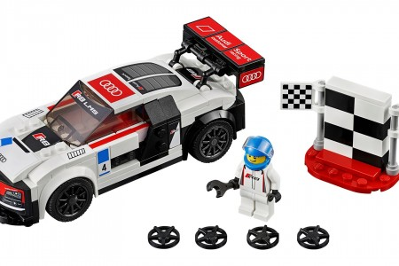 Lego Audi Racers For Kid Enthusiasts