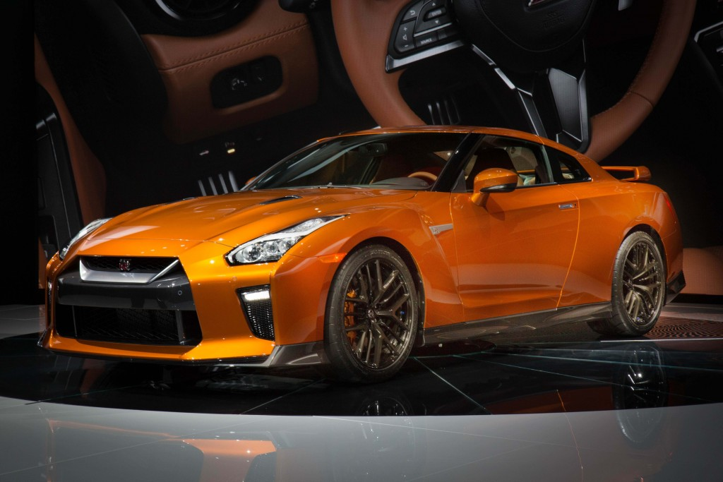 NEW YORK (March 23, 2016) - The new 2017 Nissan GT-R, which features the most significant makeover to the iconic supercar since its launch in 2007, made its global debut today at the 2016 New York International Auto Show.