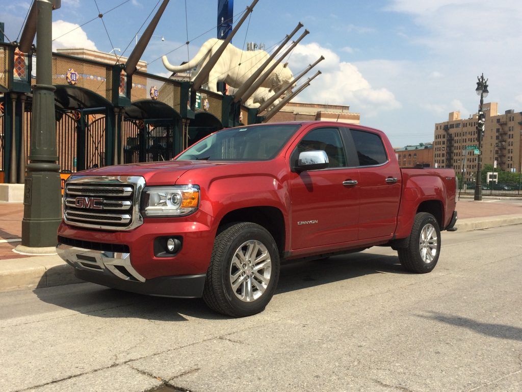 2016 GMC Canyon 4WD SLT Turbo Diesel