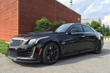 2016 Cadillac CTS-V: All Black Everything