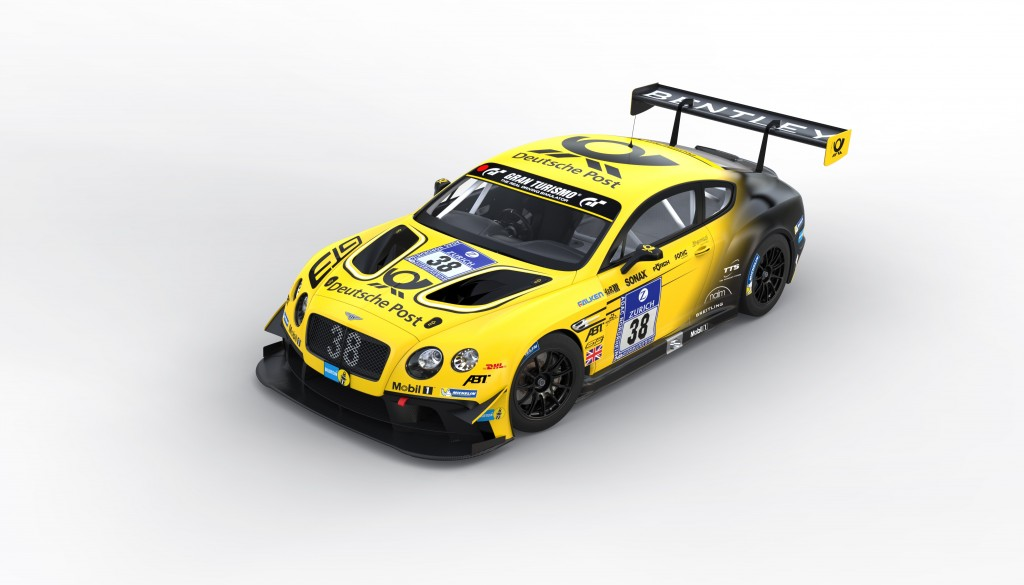 The no.38 Continental GT3