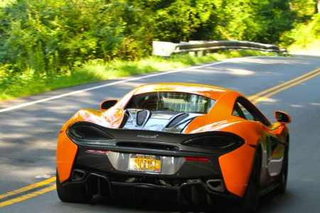 Photo Gallery: 2017 Ventura Orange McLaren 570S