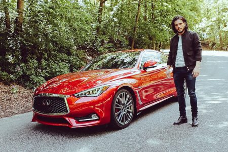 Kit Harington and the Infiniti Q60 Featured in new film, Tyger