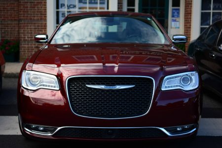 "Chrysler 300C: Velvet Red Pearl ""Mopar"" Edition at Katie's Cars and Coffee"
