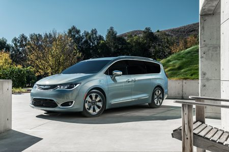 2017 Chrysler Pacifica Hybrid: The Electric Minivan