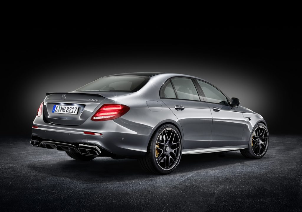 2018 Mercedes-AMG E63 S Sedan, European model shown