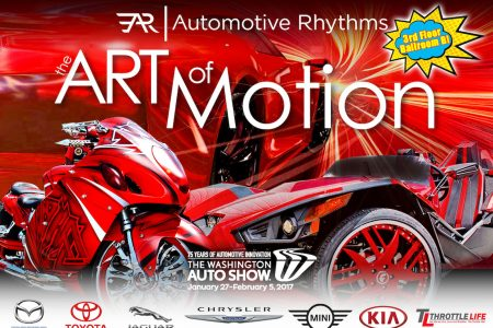 "Second Annual ""ART-of-Motion"" Exhibit: 2017 Washington Auto Show"