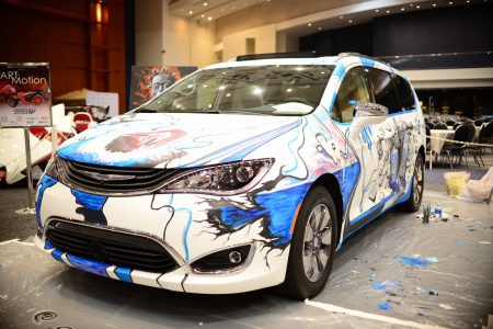 2nd Annual ART-of-Motion Exhibit at the 2017 Washington Auto Show