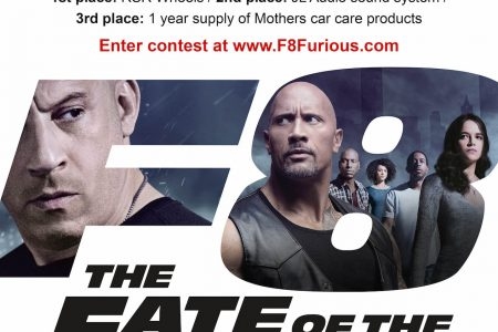 FURIOUS 8 FANDEMONIUM: Win Auto Accessories For Your Ride