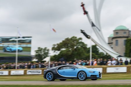 BUGATTI at the Goodwood Festival of Speed 2017