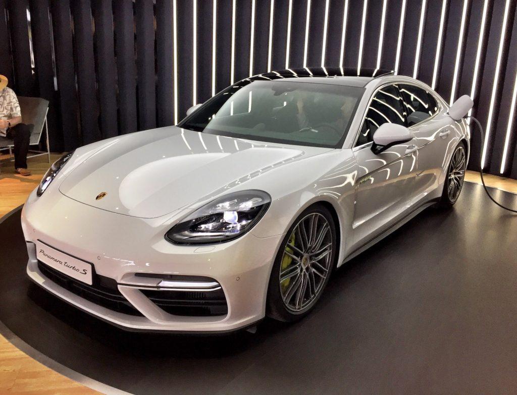 2018 Porsche Panamera Turbo S Automotive Rhythms